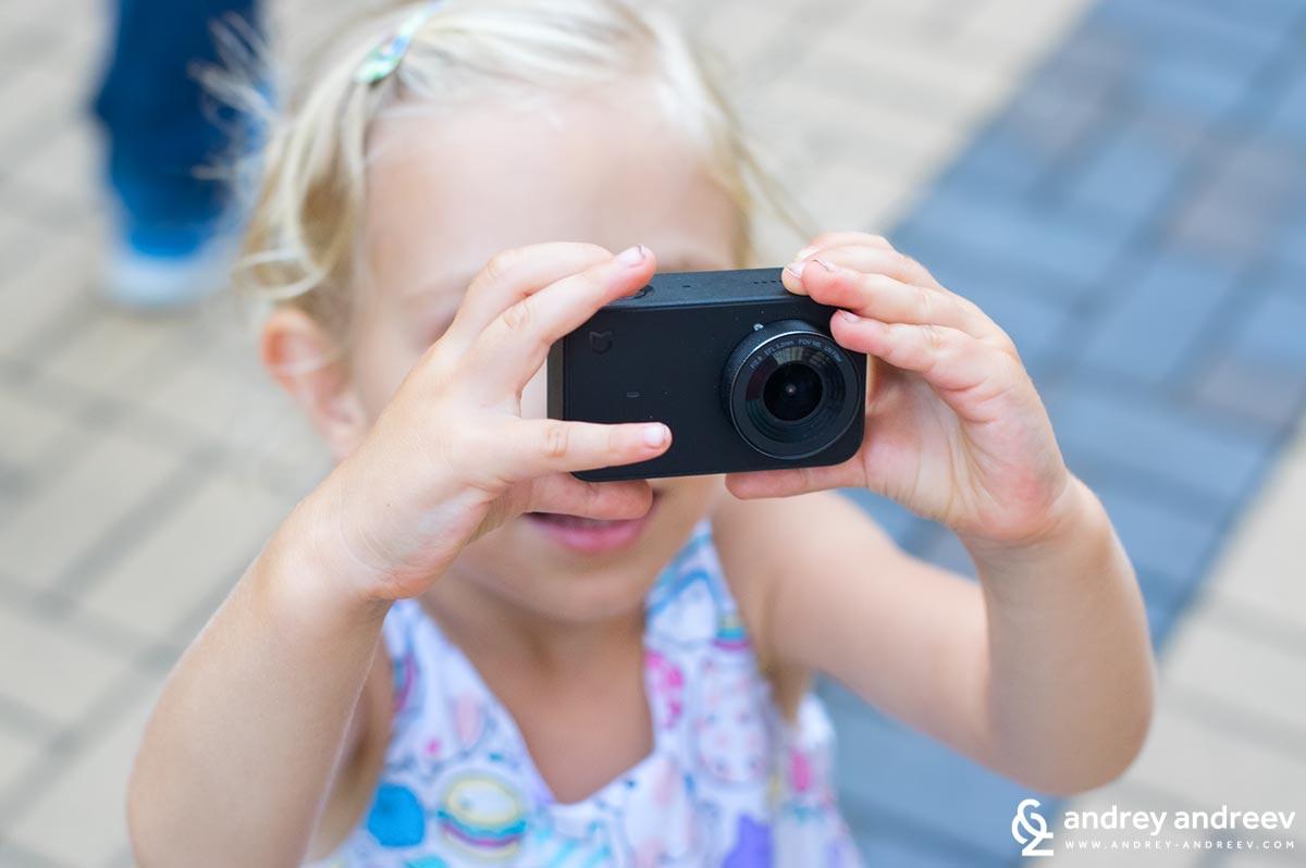 Анна и екшън камерата