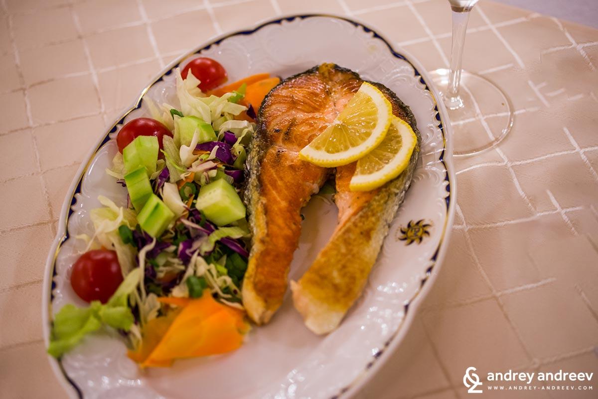 Salmon for Maria