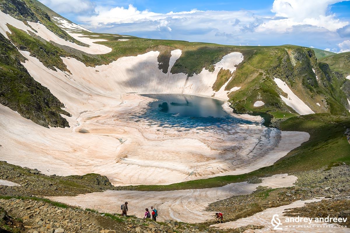 Езеро Окото, едно от Седемте рилски езера