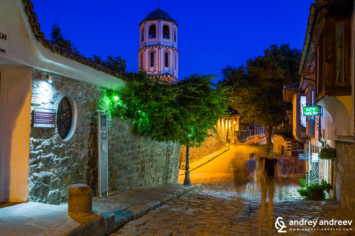 Old town in Plovdiv, Bulgaria