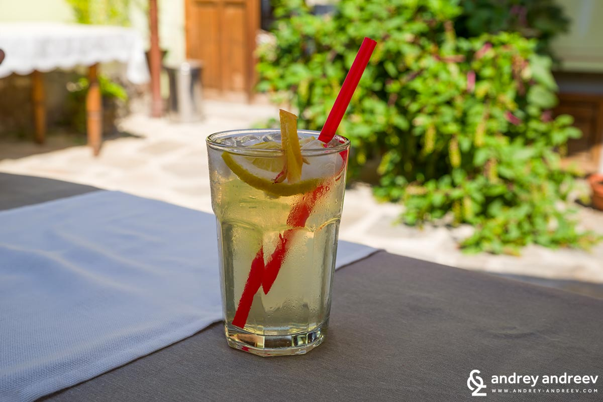 A refreshing lemonade is always welcome on a hot summer day in PLovdiv