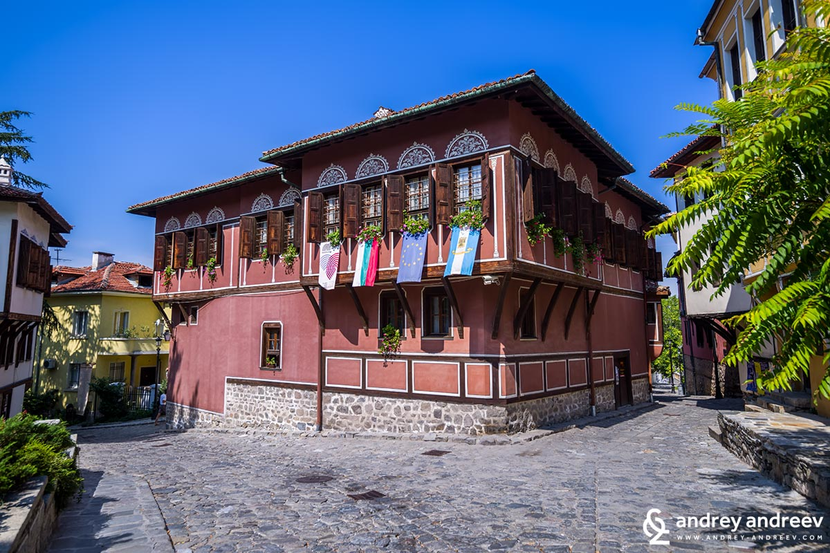Balabanov house in Old Plovdiv