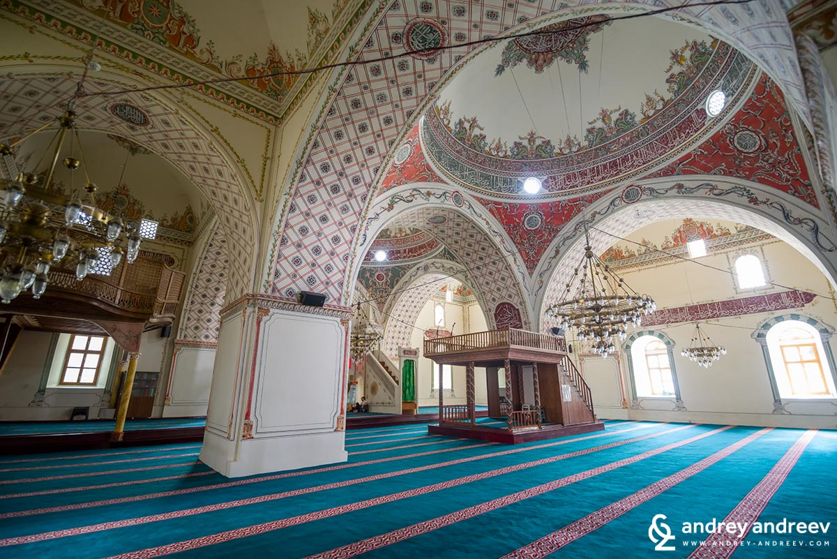 Dzhumaya mosque in Plovdiv from the inside