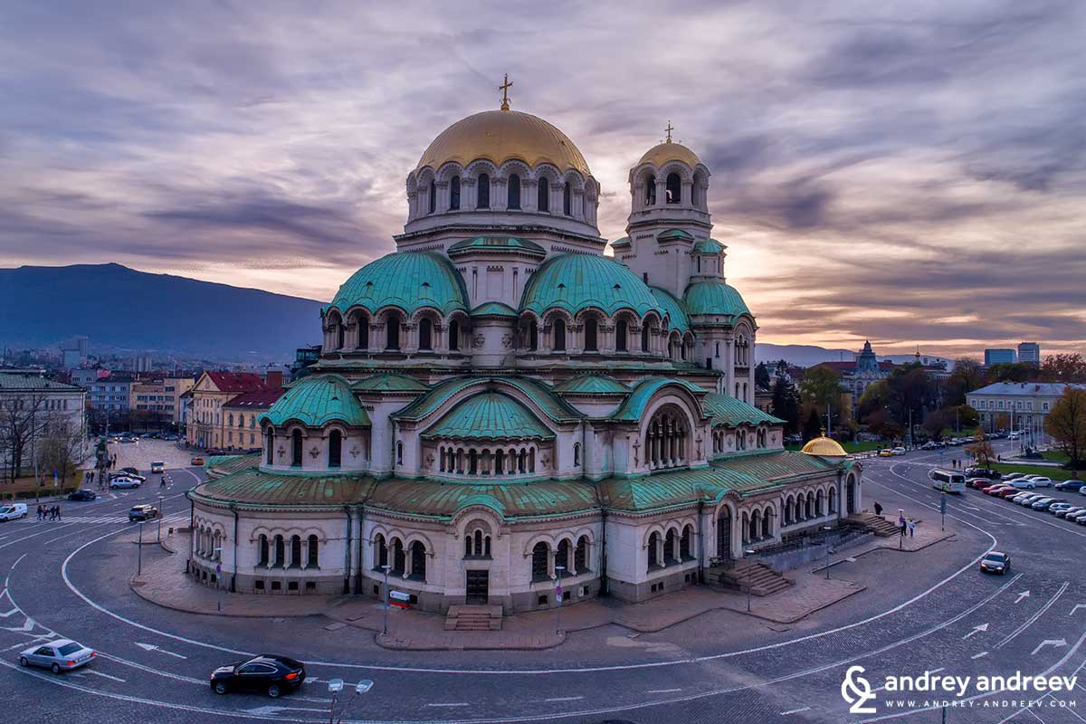 St. Alexander Nevsky Cathedral in Sofia, Bulgaria
