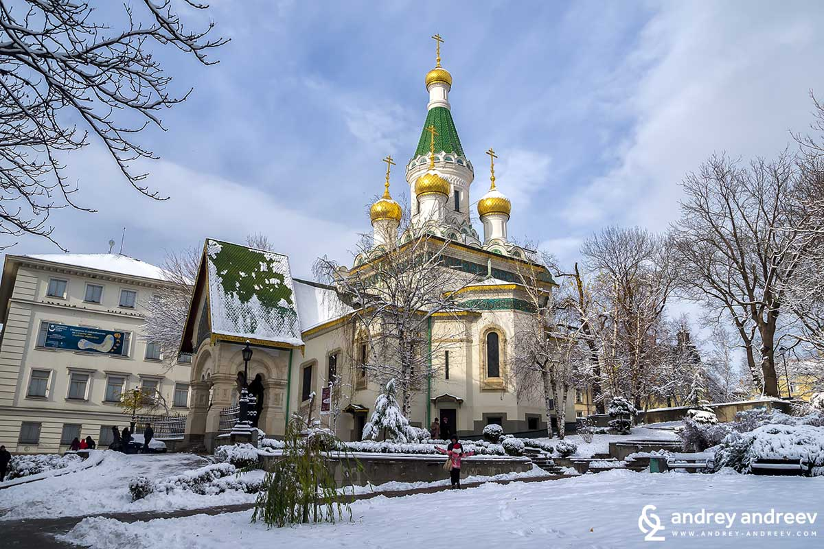 Russian church St. Nicholas the Miracle Maker