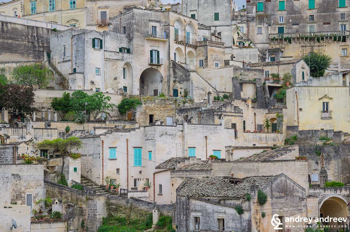 The house s in Matera