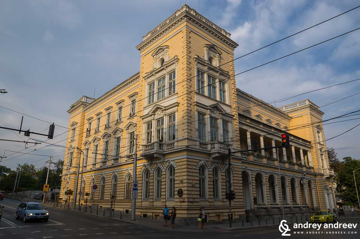 Centrtal military club in Sofia