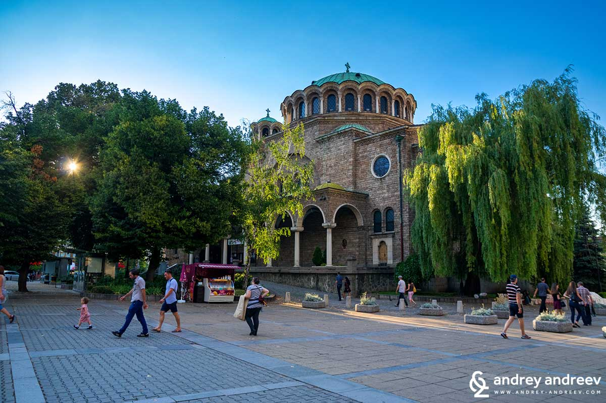 Sveta Nedelya church in Sofia, Bulgaria