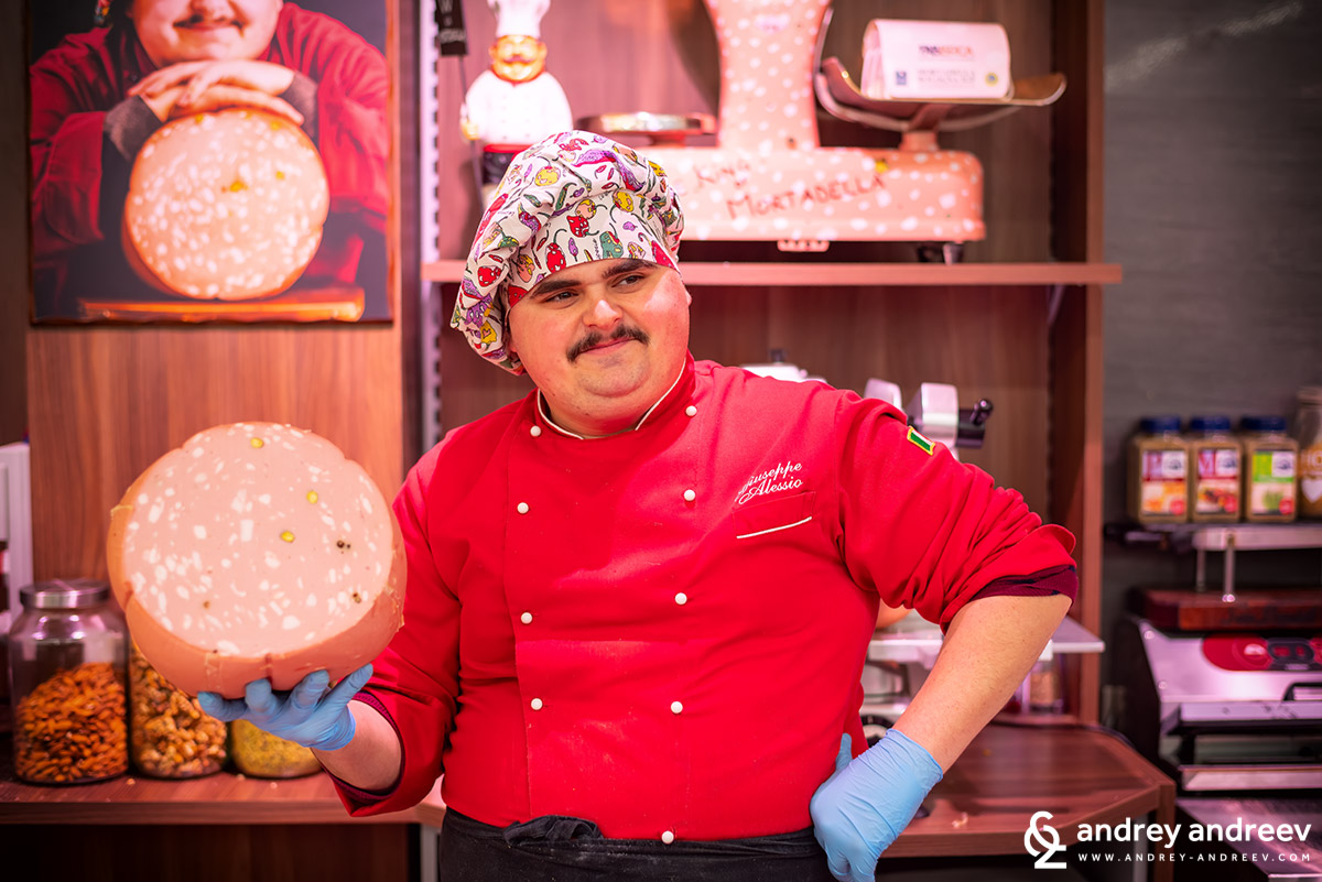Giuseppe Alessio - The king of the Mortadella