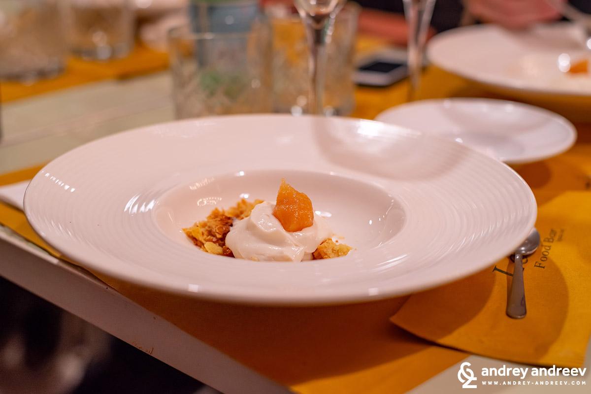Crema di ricotta e mostarda agli agrumi – този безкрайно вкусен десерт така и не успях да си го преведа и си остава само с италианското име :)