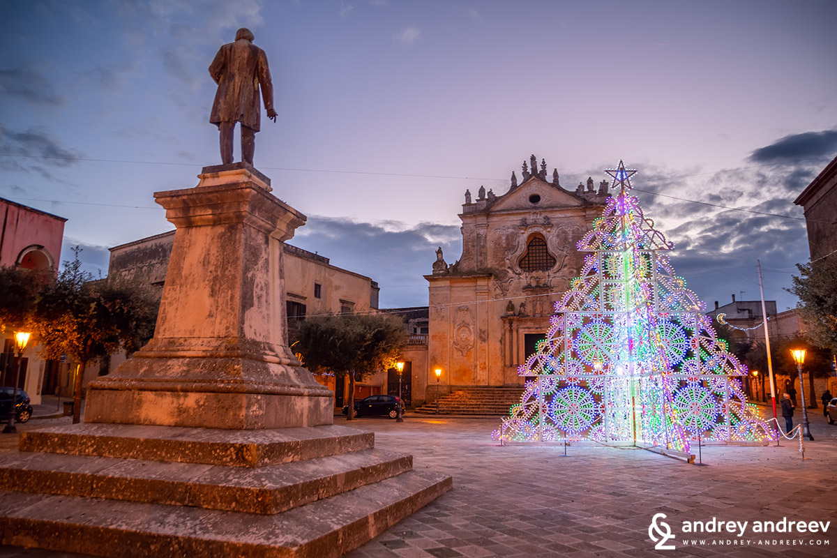 Christmas mood in Tricase, Salento
