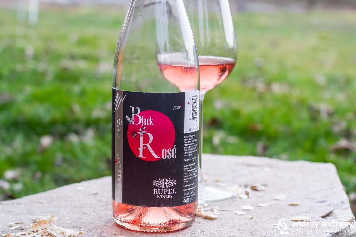 Black Rose by Rupel Winery, Struma Valley region, Bulgaria