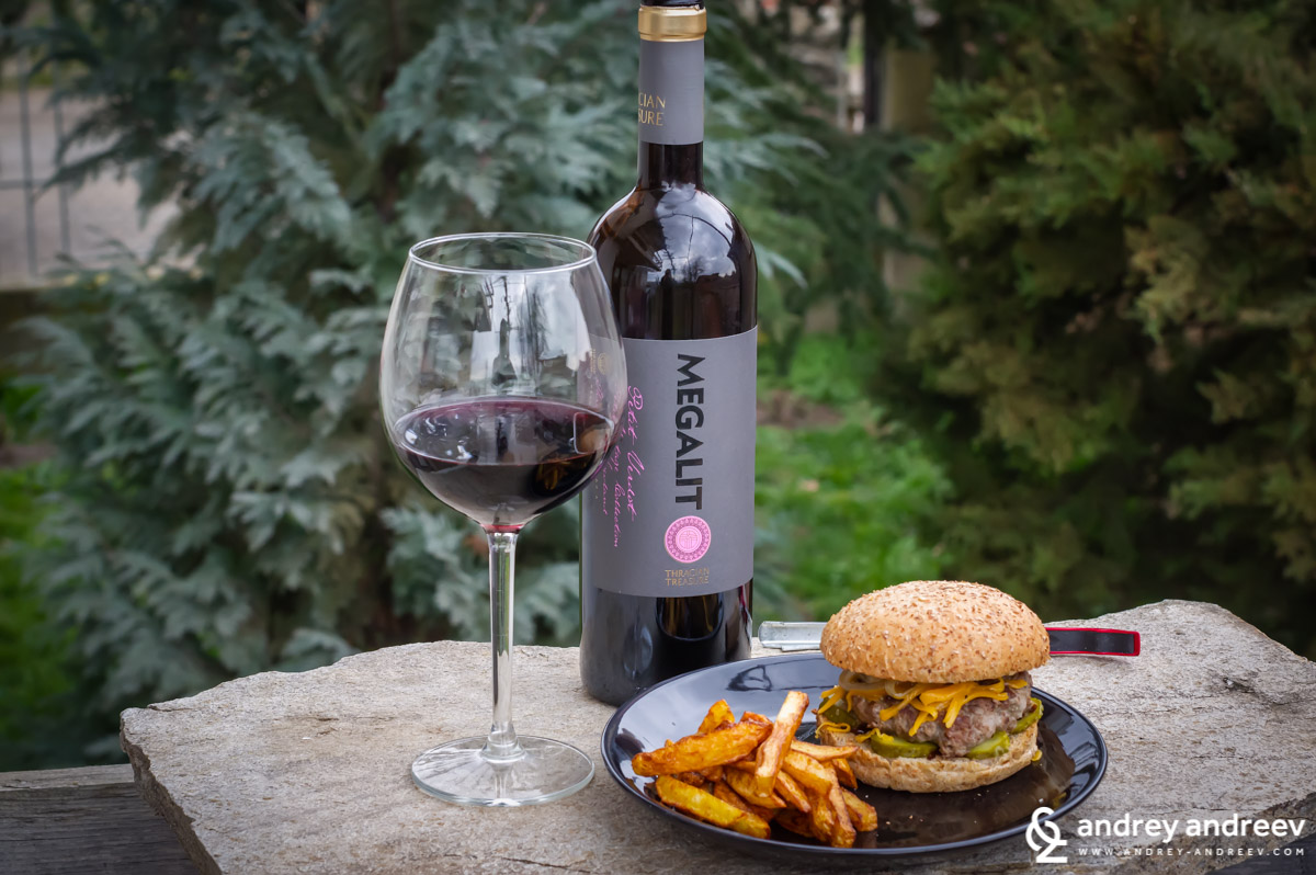 Megalit Petit Verdot 2015 from Chateau Kolarovo, Bulgarian wine to gift