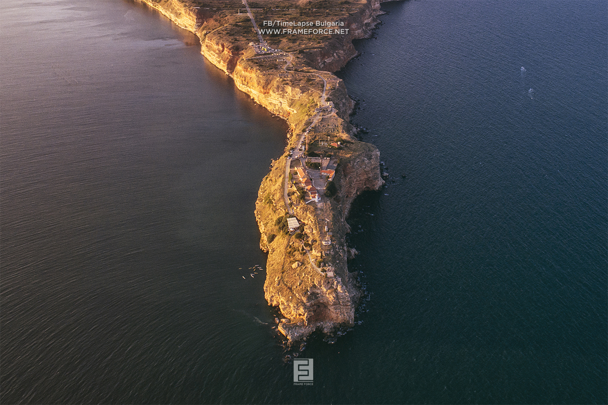 Cape Kaliakra - if you like aerial photos, follow Stefan, a very cool guy and my good friend Н