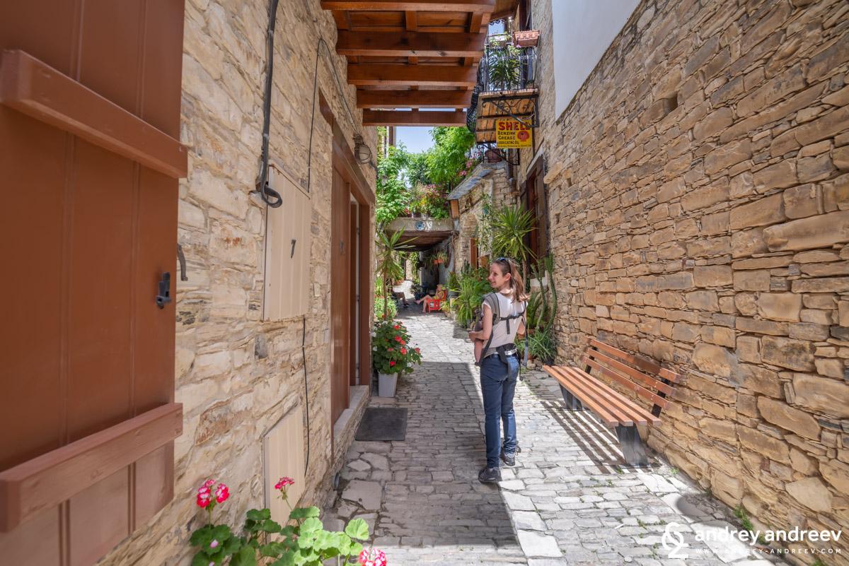Мимето се разхожда из Лефкара