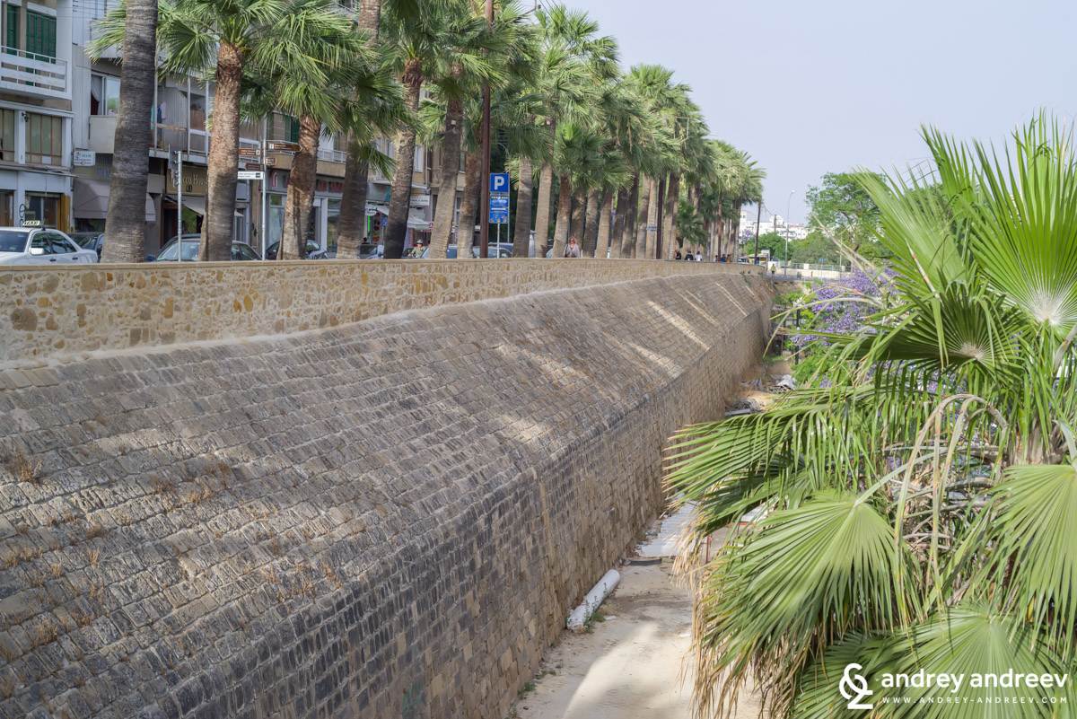 The fortification walls of Nicosia, Cyprus