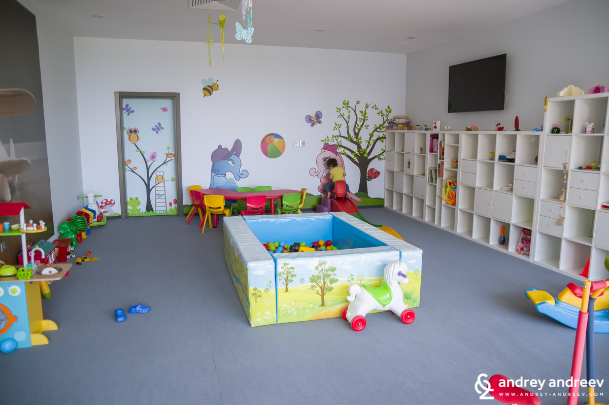 The kids room at Uva Nestum