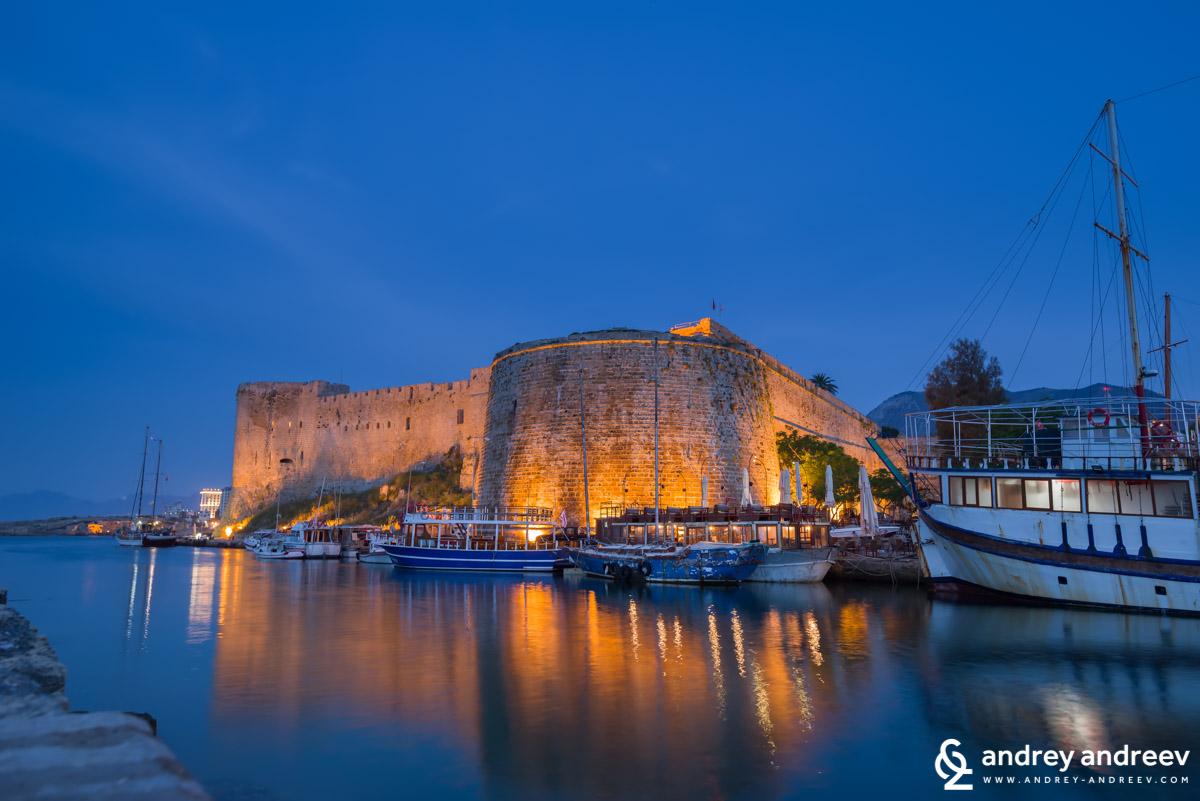 Крепост Кирения в Кипър