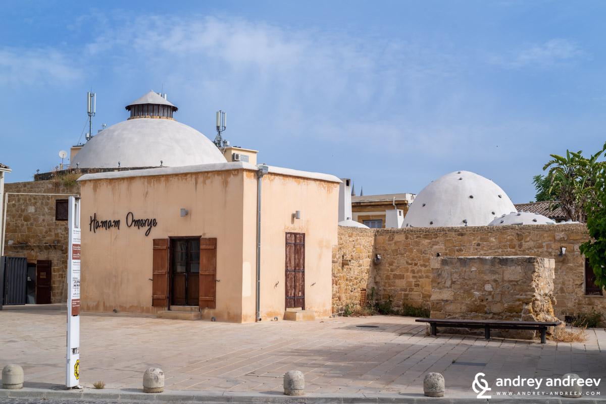 Дори не може да си представите днес колко съжалявам, че нямахме време да посетим хамам Омери