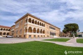 Архиепископския дворец в Никозия, Кипър