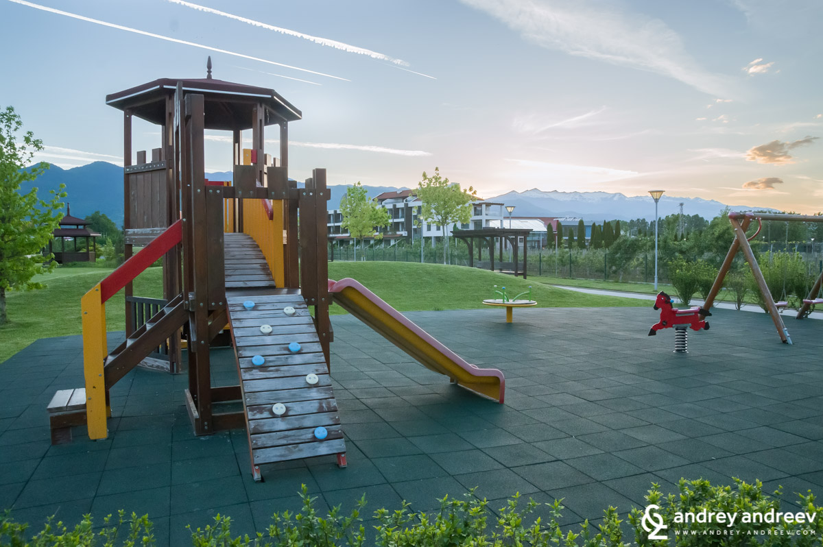 Playgrounds in the Uva Nestum park