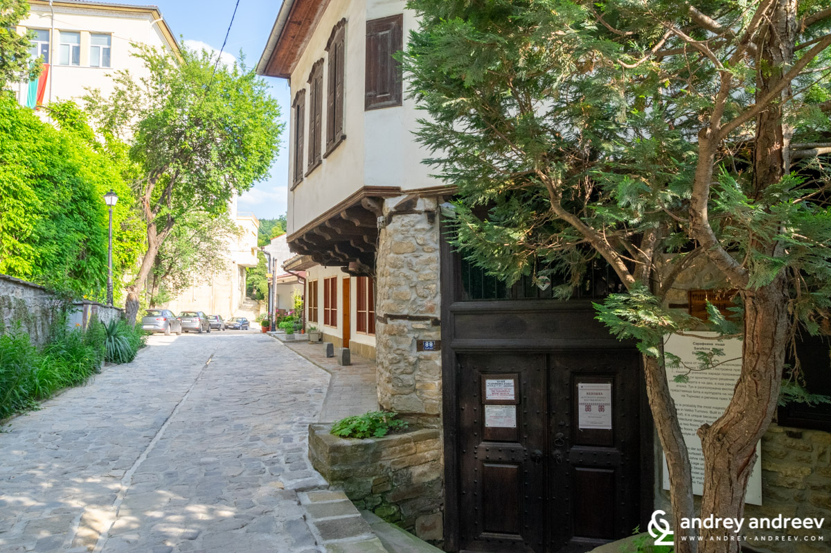 General Gurko street, Veliko Tarnovo, Bulgaria
