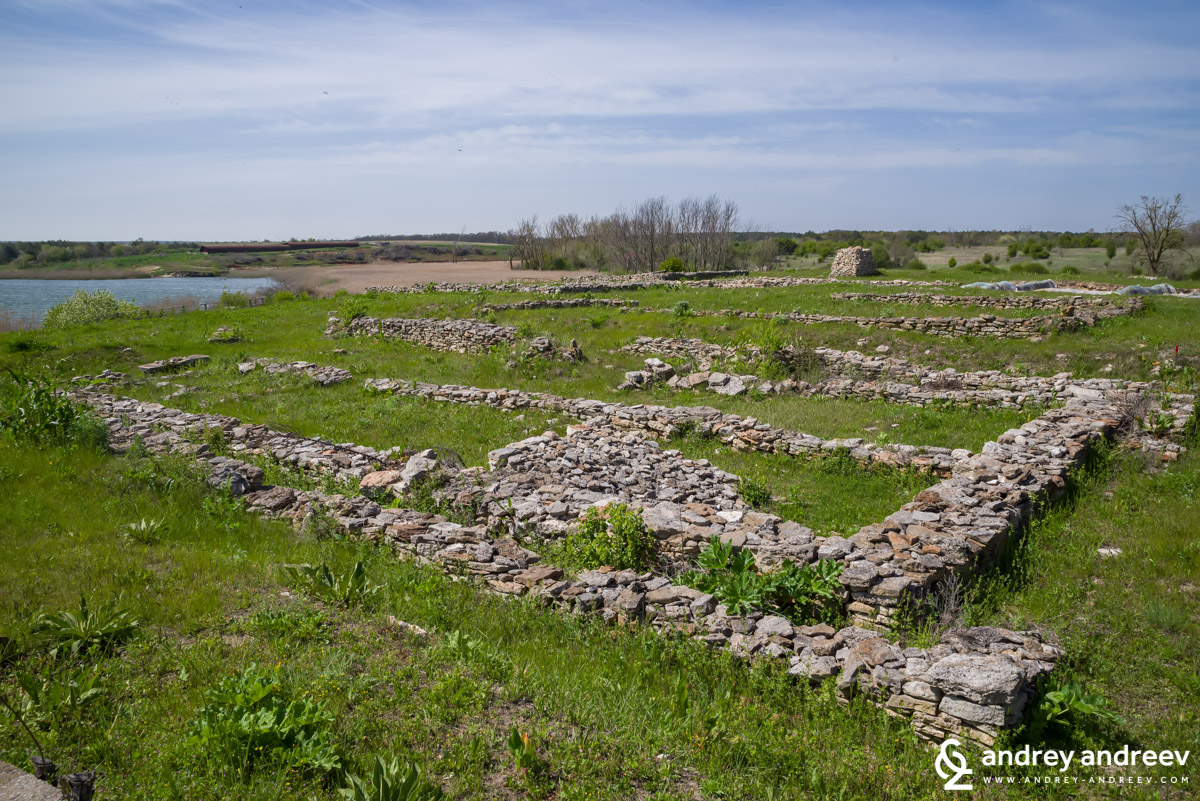The archaeological remains in the Durankulak lake