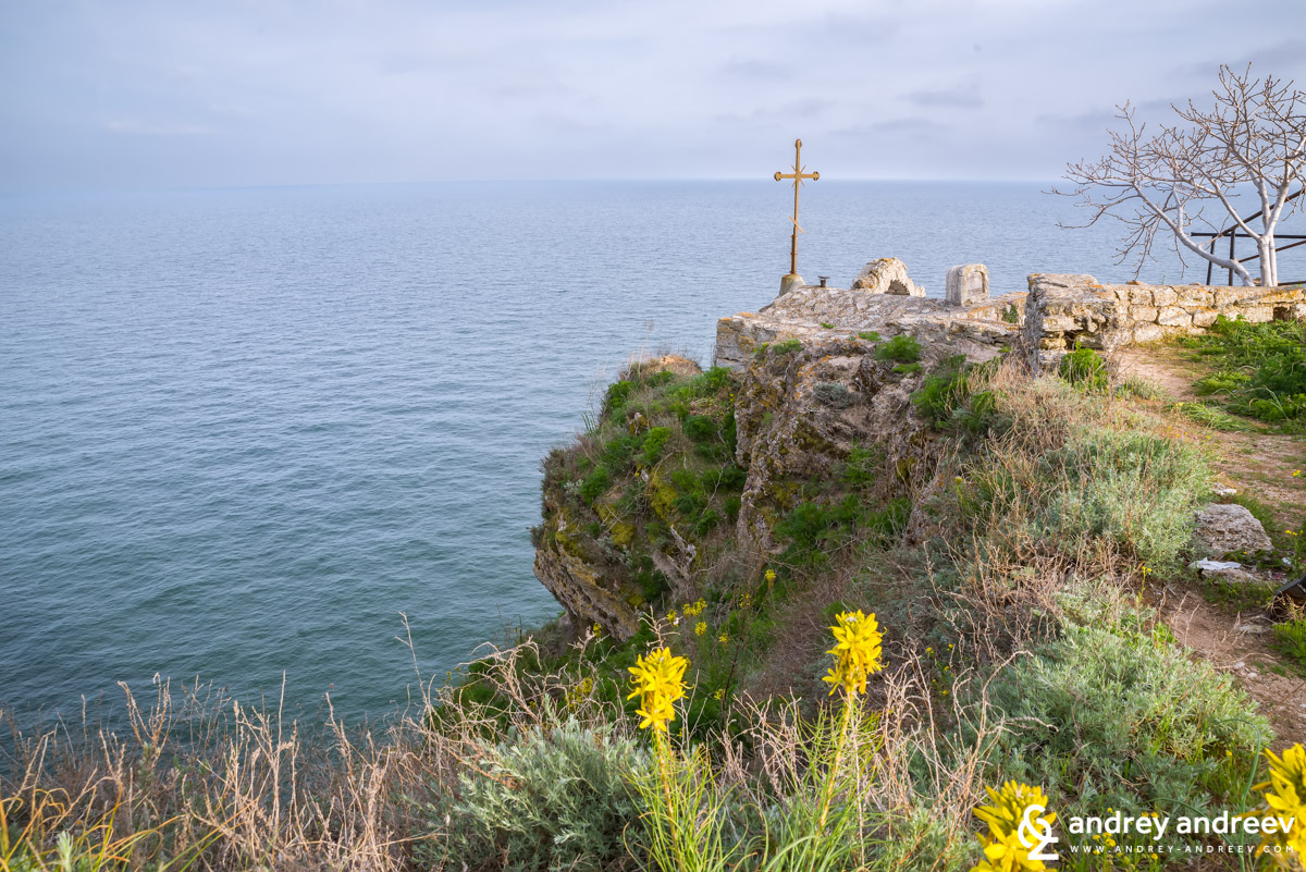 The chapel at Cape Kaliakra