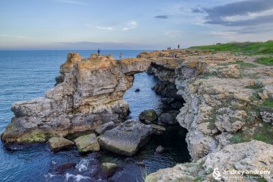 The arch of Tyulenovo, Northern Bulgarian seaside, attractions north of Varna