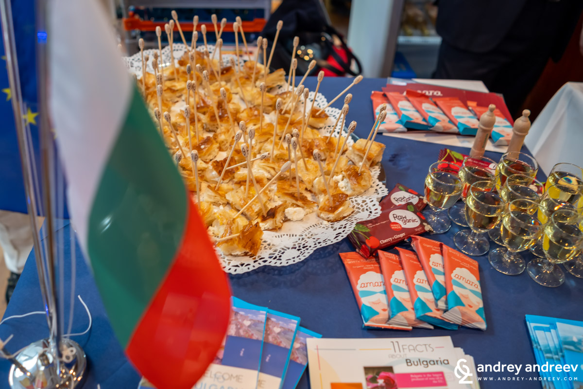 The Bulgarian stand at Stallwächterparty 2019