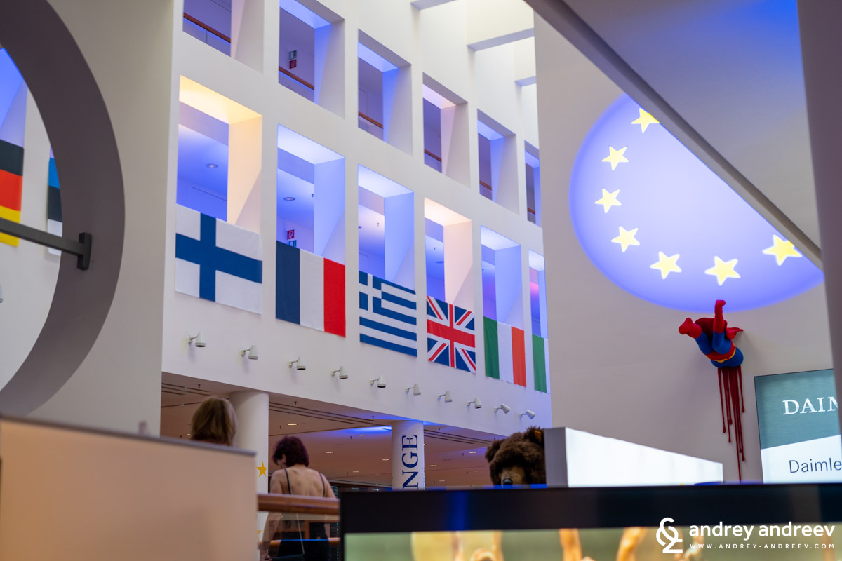 Europe was the theme of the 2019 party