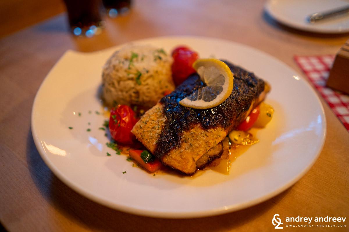 Maria's salmon