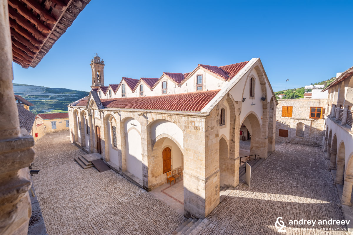 "The church of the monastery ""Τιμίου Σταυρού"" - Timios Stavrod monastery (Holy Cross)"