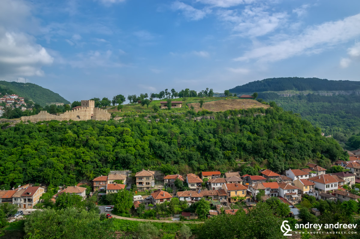 View towards Trapezitsa and Asen's neighbourhood in Veliko Tarnovo