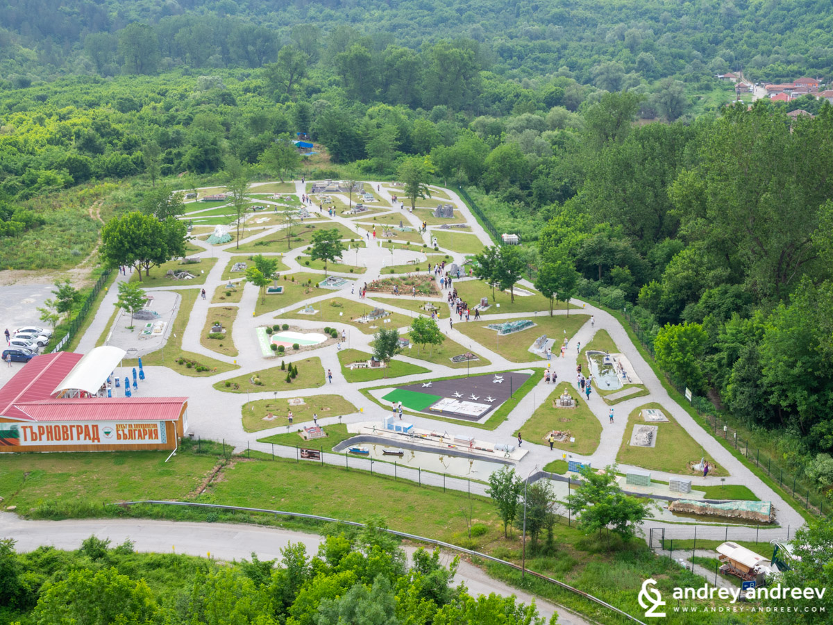 Park Mini Bulgaria in Veliko Tarnovo