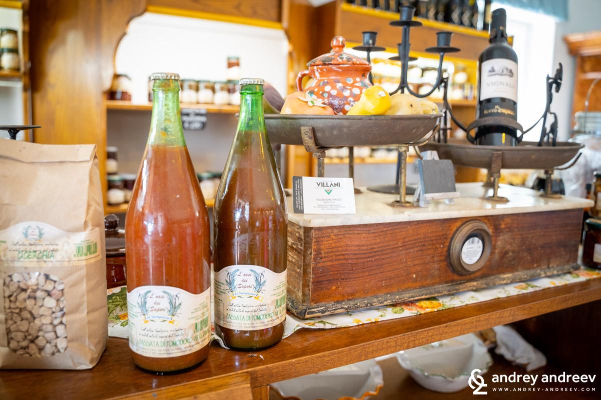 И доматен сос местно производство - L'Oasi dei Sapori