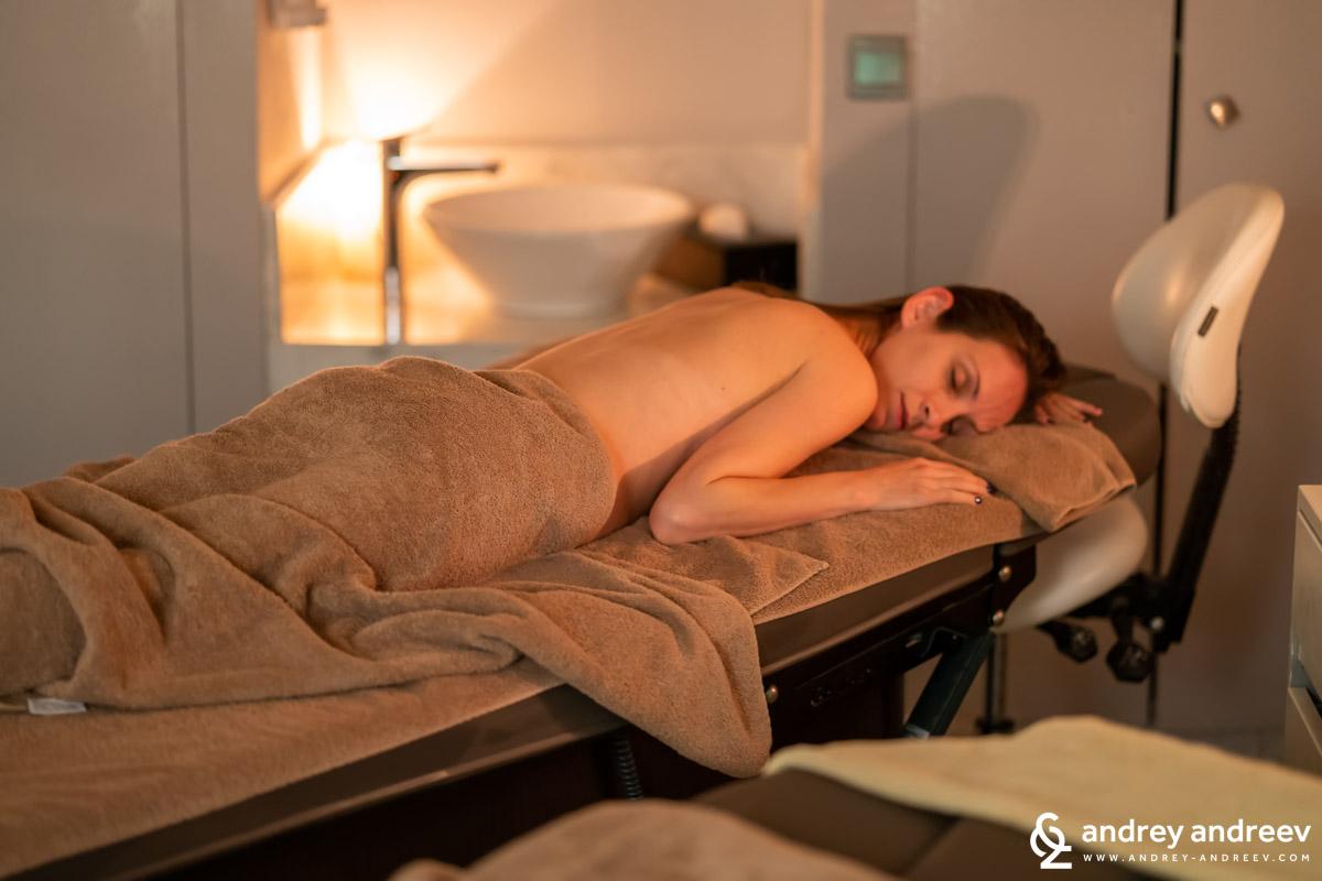 Massage at Spa O De Rose - Movenpick Marrakech