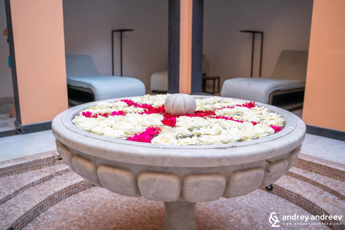 A beautiful corner in the O de Rose spa