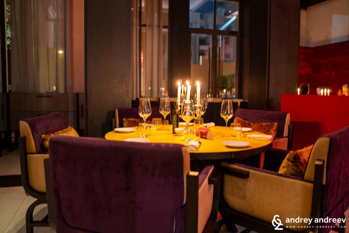 Urban Brasserie restaurant - Movenpick Marrakech