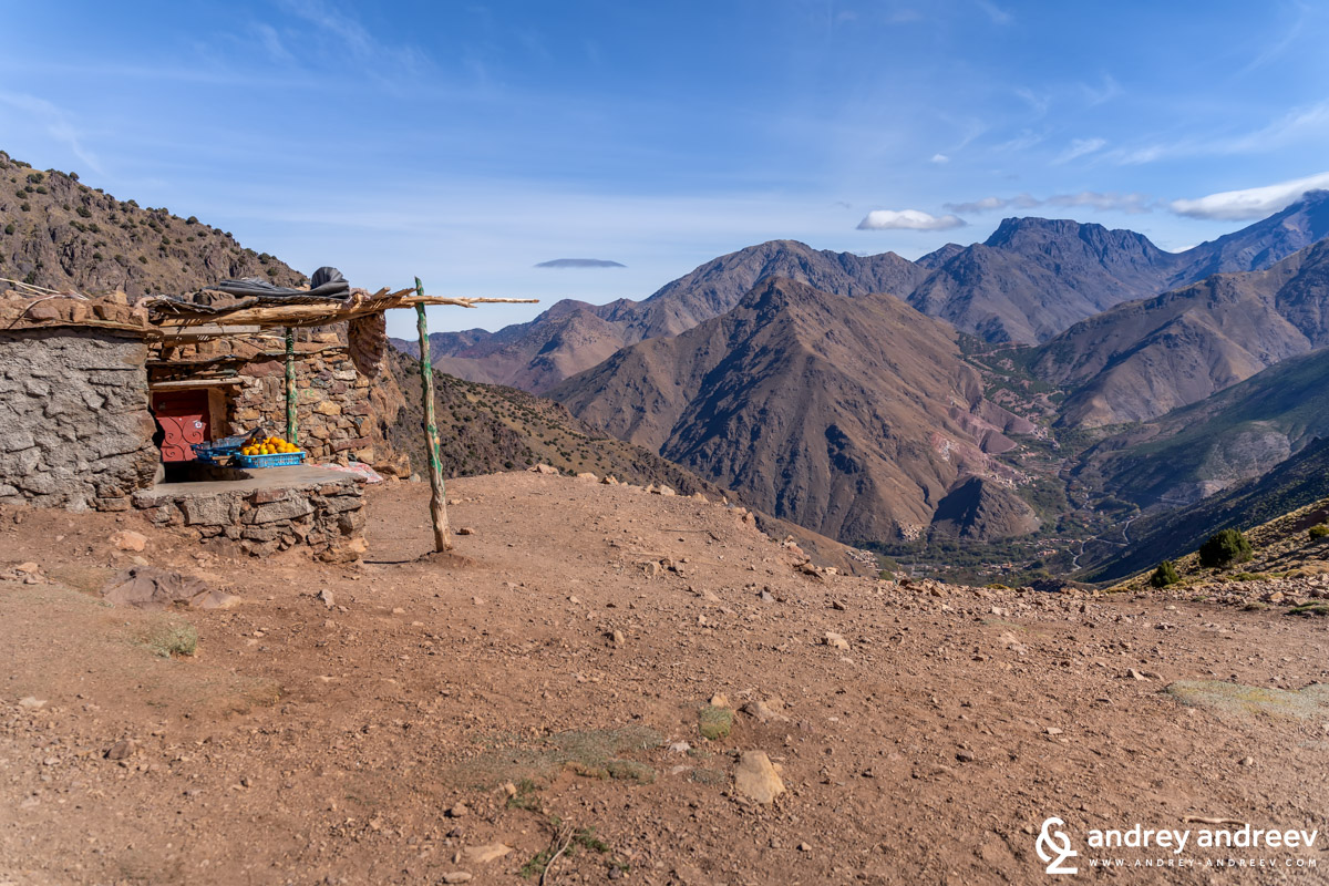 Tizi Mzik pass, High Atlas, Morocco