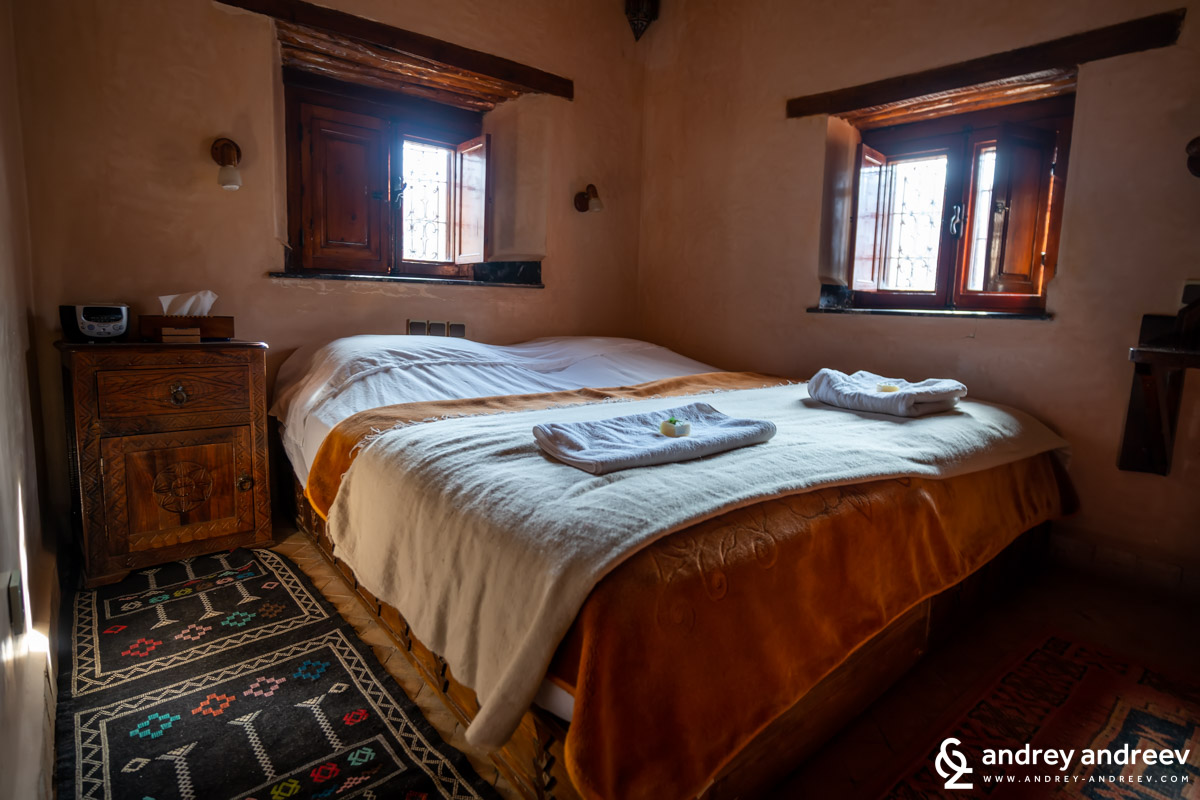 The rooms in the trekking lodge are not very large but are cozy, with luxury firniture and bath in every room