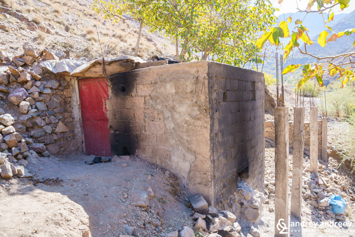 The tiny hammam of Tadart village
