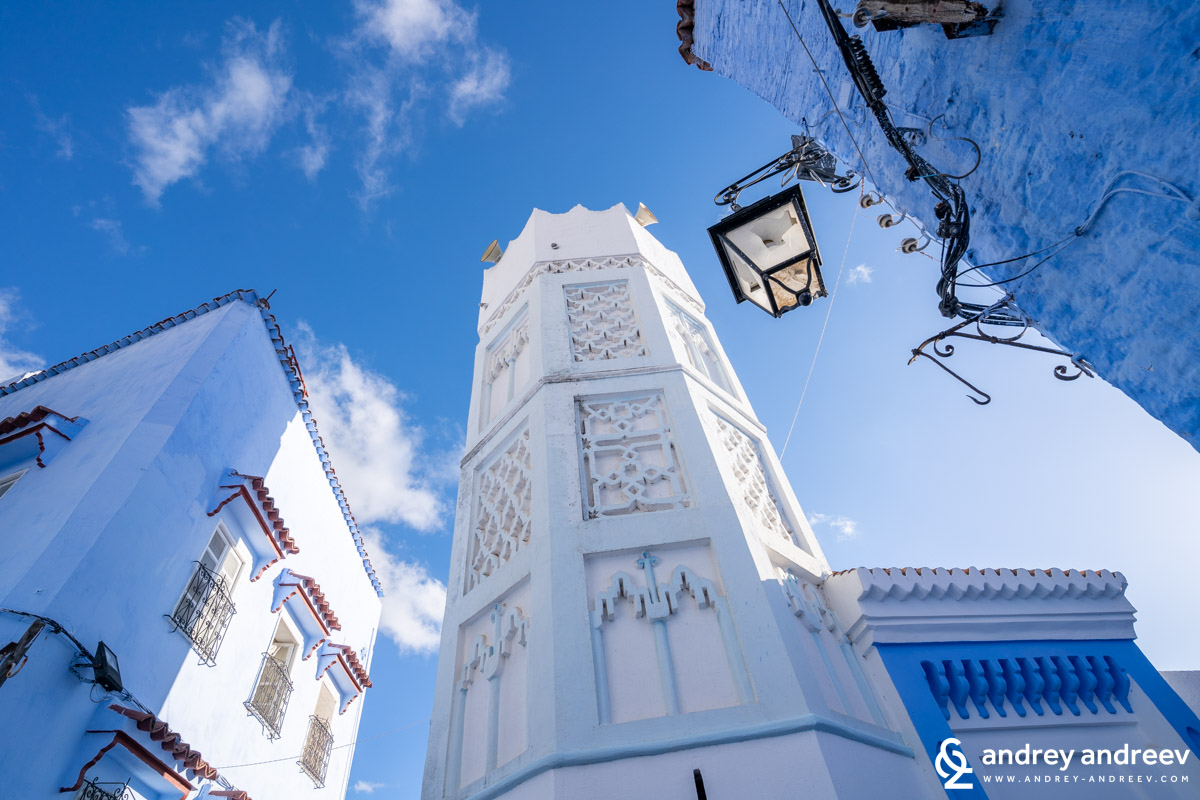 The mosques of Chefchaouen