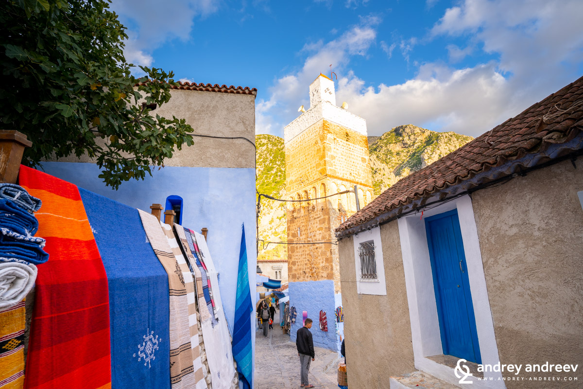 The mosques of Chefchaouen Morocco