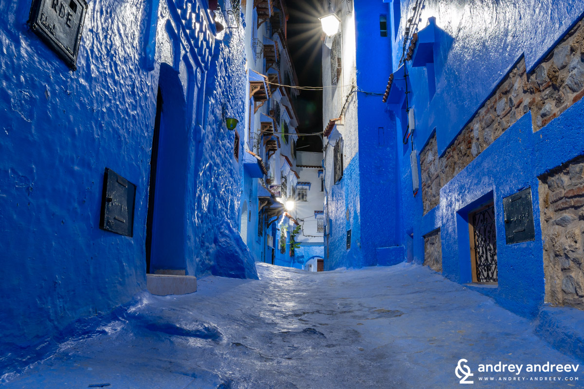 Night in Chefchaouen