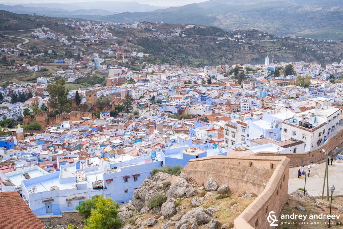 The beautiful Chefchaouen is one of the most recognizaple places in Morocco. The blue city in Morocco, blue city Morocco