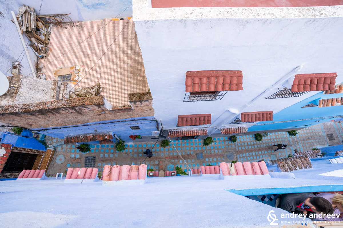 A slightly different look to Chefchaouen Morocco