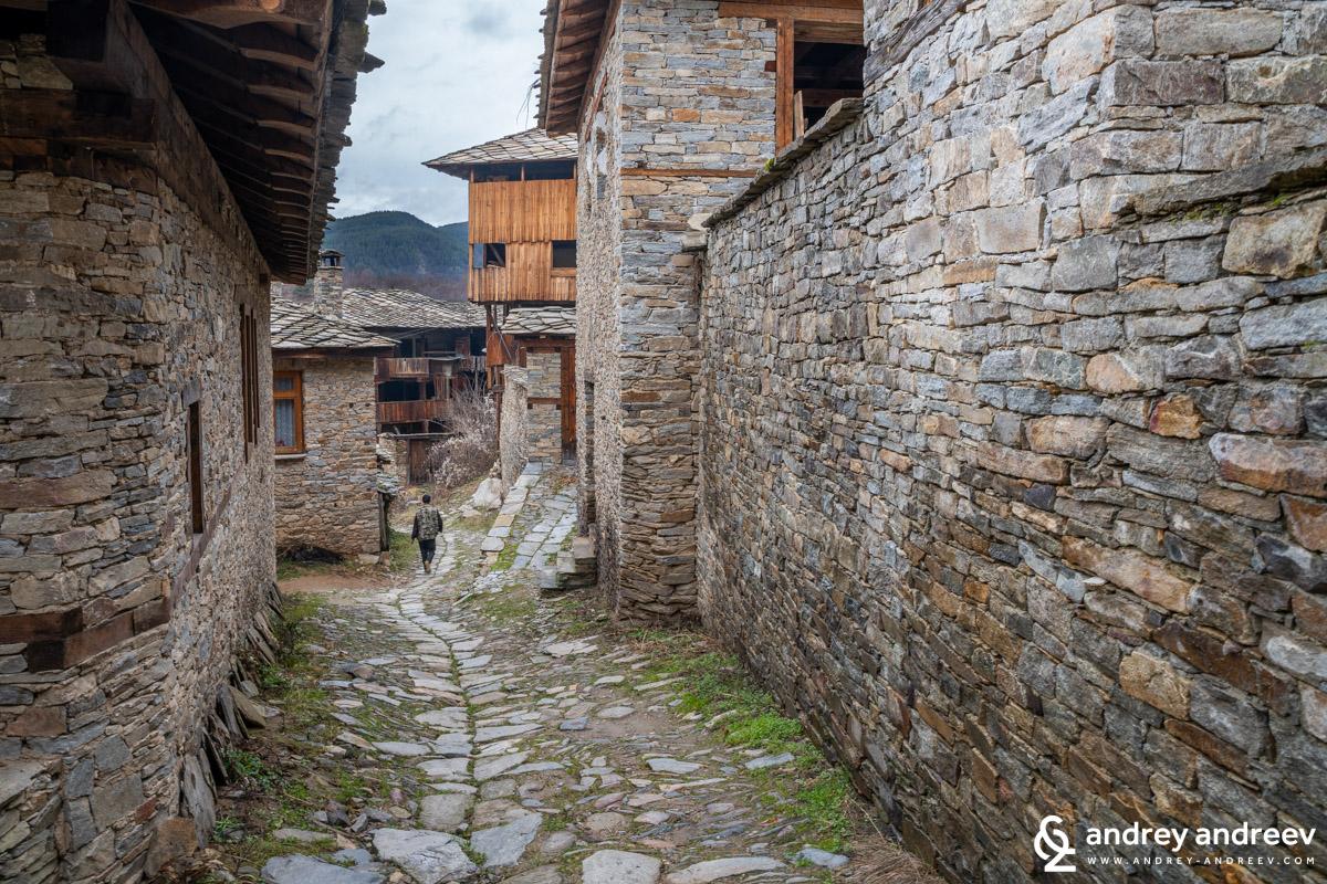 Село Ковачевица през зимата