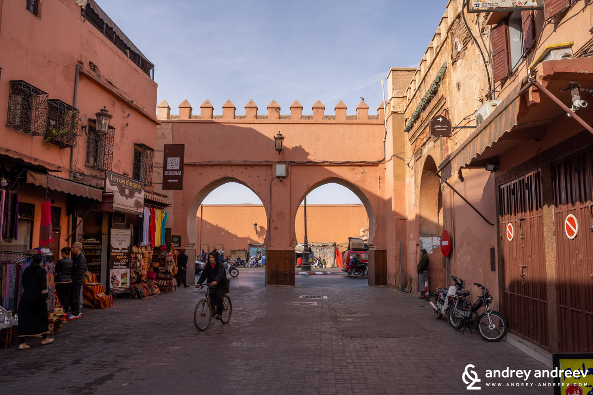 Bab er Robb gate, Marrakech