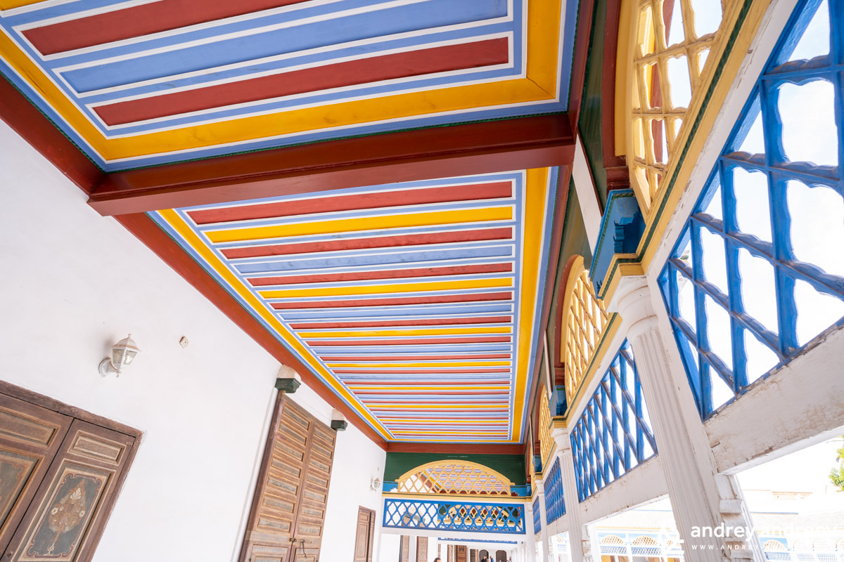 Ceilings of Bahia palace